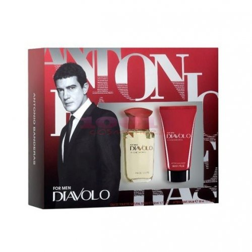 ANTONIO BANDERAS DIAVOLO EAU DE TOILETTE MEN 50 ML +AFTER SHAVE BALM 50 ML SET