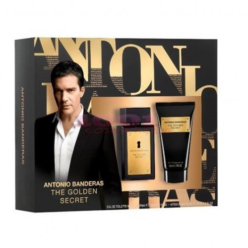 ANTONIO BANDERAS THE GOLDEN SECRET EDT 50 ML + AFTER SHAVE BALSAM 50 ML SET