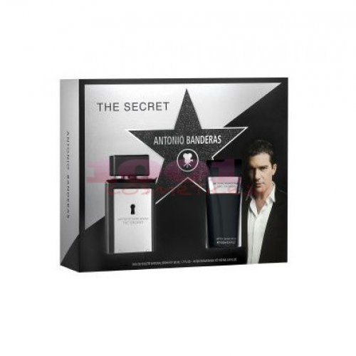 ANTONIO BANDERAS THE SECRET SET EDT 50 ML+ AFTER SHAVE BALM 50 ML SET