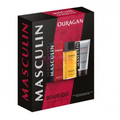 BOURJOIS OURAGAN EDT 100 ML + GEL DE DUS 150 ML MEN SET