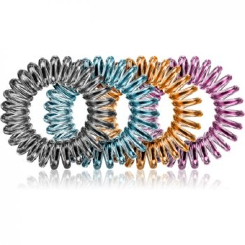 BrushArt Hair Rings Colour Elastice pentru par 4 pc