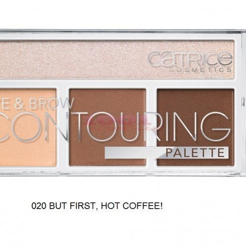 CATRICE EYE & BROW CONTOURING PALETTE BUT FIRST HOT COFFEE! 020
