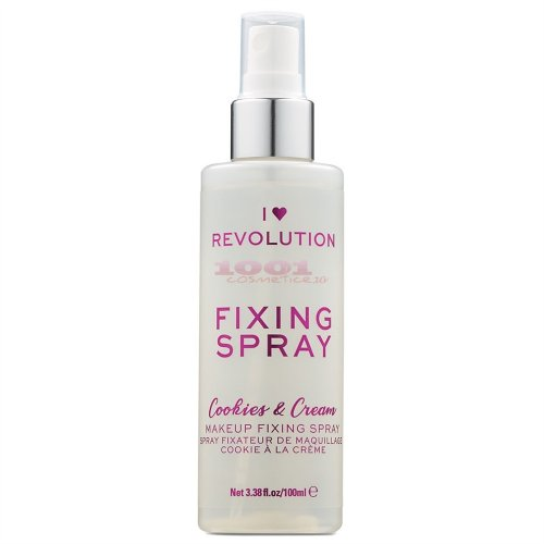 MAKEUP REVOLUTION FIXING SPRAY COOKIES & CREAM SPRAY PENTRU FIXAREA MACHIAJULUI