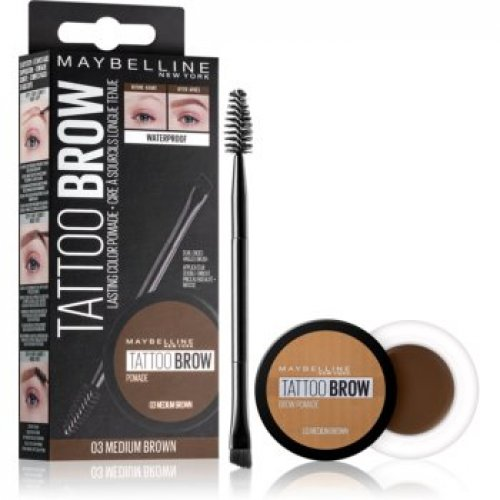 Maybelline Tattoo Brow pomada din gel pentru sprancene
