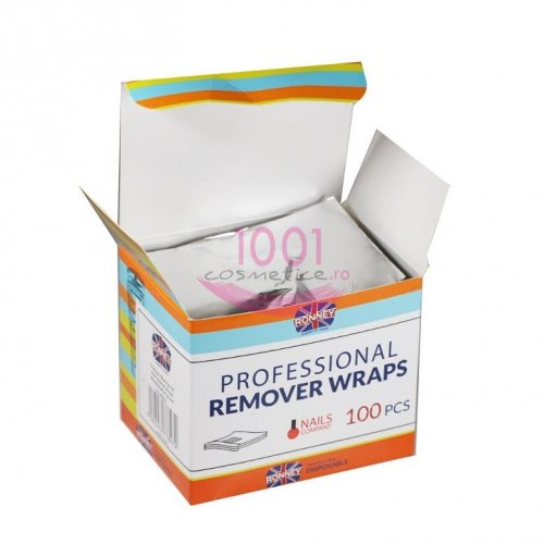 RONNEY PROFESSIONAL REMOVER WRAPS FOITE INDEPARTARE LAC GEL