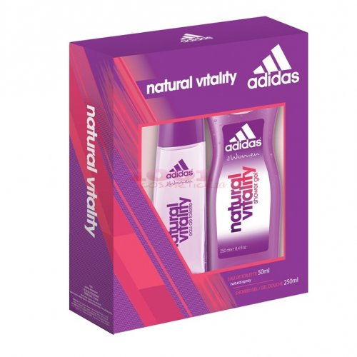 adidas NATURAL VITALITY WOMEN EDT 50 ML + GEL DE DUS 250 ML SET