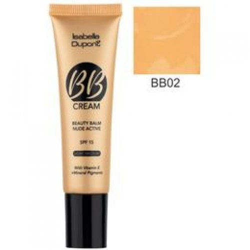 Balsam Corector Isabelle Dupont Paris BB Cream Nude Active, nuanta BB02 Sand, 30ml