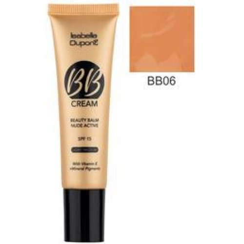 Balsam Corector Isabelle Dupont Paris BB Cream Nude Active, nuanta BB06 Tan, 30ml