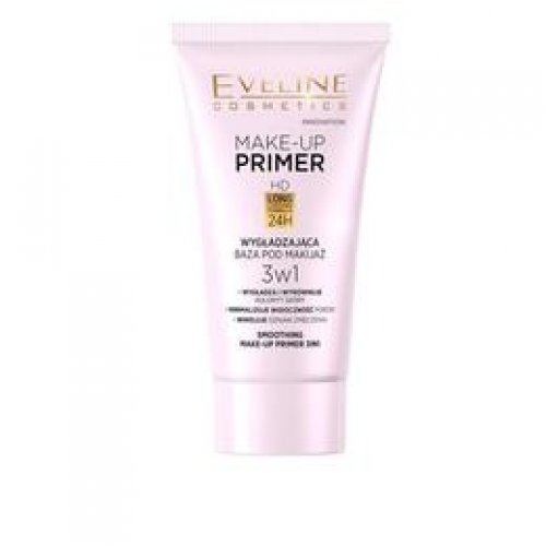 Baza de machiaj Eveline Cosmetics Make-up Primer, Smoothing 3 in 1, 30 ml