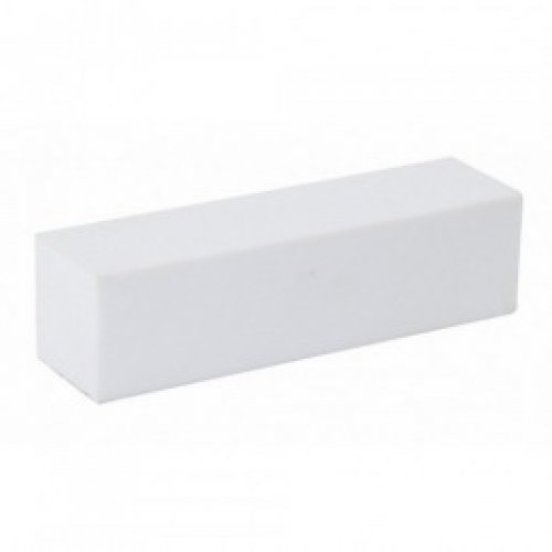 Buffer Alb - Beautyfor Sanding Block, White, duritate 120