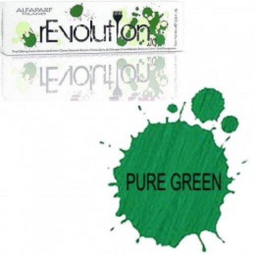 Crema Colorare Directa Verde - Alfaparf Milano Jean's Color rEvolution Direct Coloring Cream PURE GREEN 90 ml
