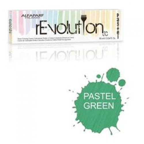 Crema Colorare Directa Verde Pastel - Alfaparf Milano Jean's Color rEvolution Direct Coloring Cream PASTEL GREEN 90 ml