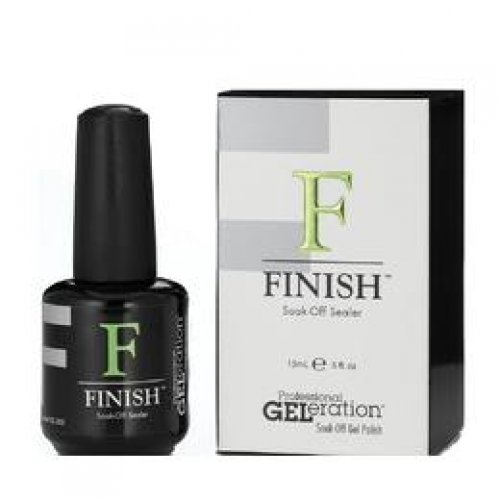 Finish pentru Lacul de Unghii Semipermanent - JESSICA GELeration Finish Soak-Off Sealer, 15ml