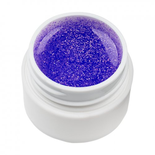 Gel UV Color cu Sclipici ENS PRO #007 - Purple Gem