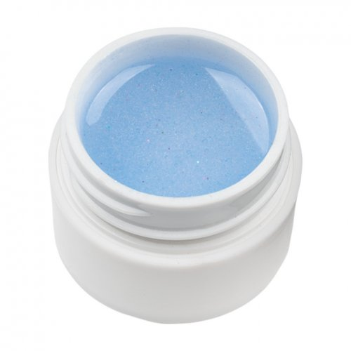 Gel UV Color cu Sclipici ENS PRO #016 - Blue Shine