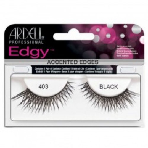 Gene False tip Banda - Ardell Accents Edgy Lash 403 Black