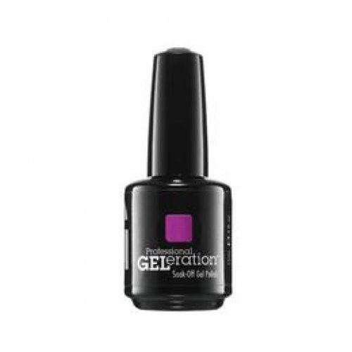 Lac de Unghii Semipermanent - JESSICA GELeration Neon Purple Party 15ml