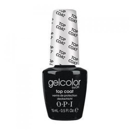 Lac de Unghii Semipermanent - OPI Gel Color Top Coat, 15 ml