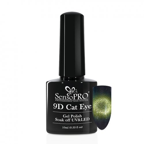 Oja Semipermanenta 9D Cat Eye #04 Rigel - SensoPRO 10 ml