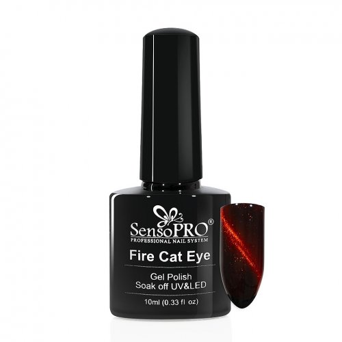 Oja Semipermanenta Fire Cat Eye SensoPRO 10 ml #06
