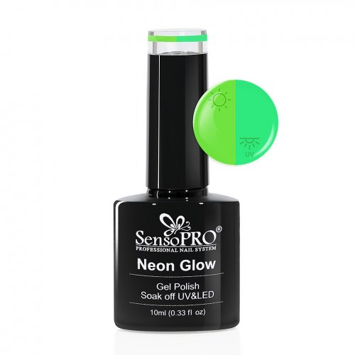 Oja Semipermanenta Neon Glow SensoPRO 10ml #20 Delicious Apple