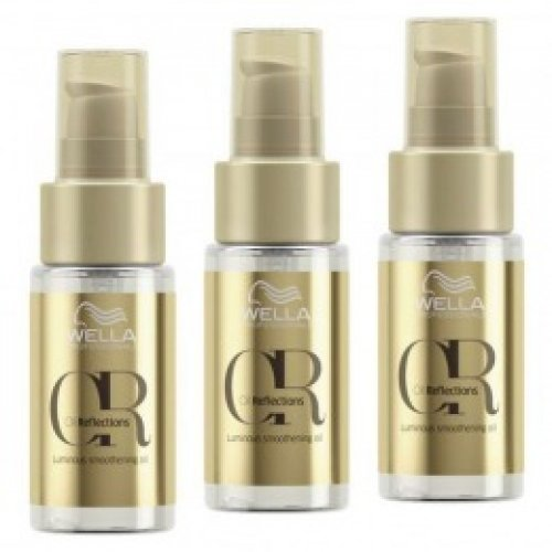 Pachet Wella Professionals Oil Reflections Luminous Smoothening 30 ml ( 2 + 1 )