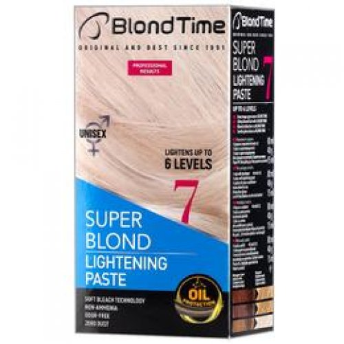Pasta Decoloranta pentru Par Blond Time Super Blond Rosa Impex