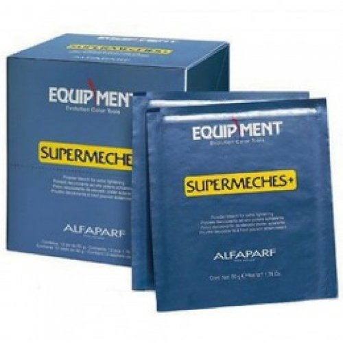 Pudra Decoloranta - Alfaparf Milano EQ Supermeches Powder Bleach 12 plicuri x 50 gr